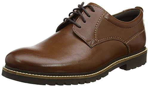 Rockport Men's Marshall Pt Oxford Shoes, Size: 12 D(M) US, Color: Acorn