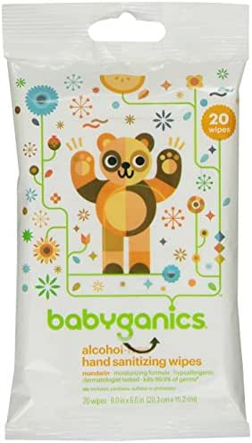 Hand Sanitizer: Babyganics Hand Sanitizing Wipes
