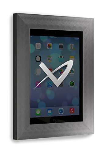 (VidaMount iPad 2/3 / 4 On Wall Metal Frame - Florentine Grey )