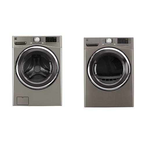 Kenmore Front-Load Laundry 4.5 Gas Dryer Bundle - Metalli...