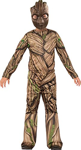 Groot Guardians Of The Galaxy Costume - Rubie's Costume Guardians of The Galaxy Vol. 2 Groot Costume, Multicolor, Small
