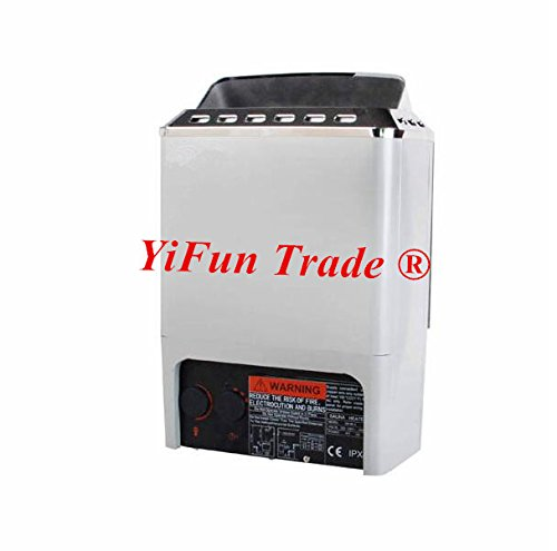 YiFun Trade 4.5KW Mini Type SPA Sauna Bath Heater Stove for Family and Small Club External Control 220V by YF&EB