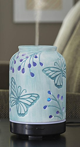 Better homes and gardens essential oil diffuser tranquil butterfly 877991047617 Better homes and gardens diffuser