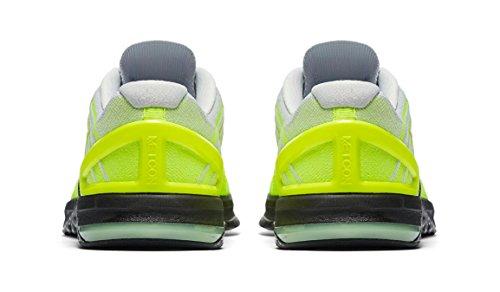 ... Nike Menns Metcon Dsx Flyknit Trening Sko Volt Hvit Svart ...