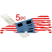 Eclipse Glasses Standard - Stars & Stripes - 5 in a package by TSE17 - Total solar eclipse with DIN and ISO