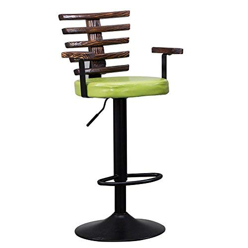 edef07f98e7 YZH Retro Style Height Adjustable 95 to 115 cm Dining Chair, Living  Room Reception
