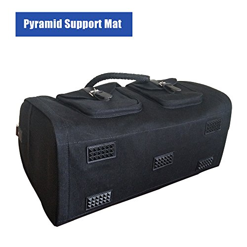 f03d3e07b833 2 in 1 Convertible Travel Garment Bag Carry On Suit Bag Luggage Duffel