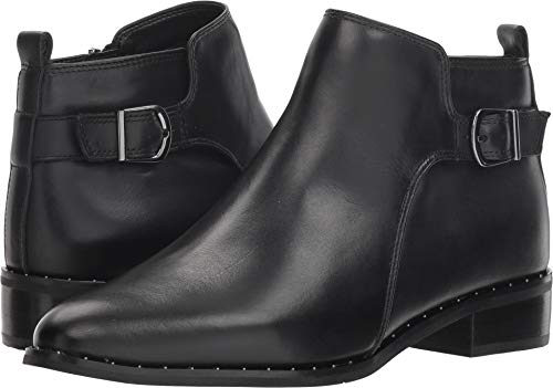 Blondo Women's Tami Ankle Boot Black Leather 7.5 M US