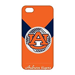 2015 Ultra Thin Auburn Tigers 3D Phone Case for iPhone 5s