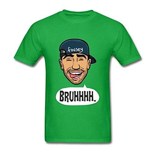 SLJD Men's Yousef Erakat FouseyTube Design T Shirt]()