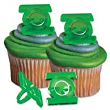 Green Lantern Movie Cupcake Rings