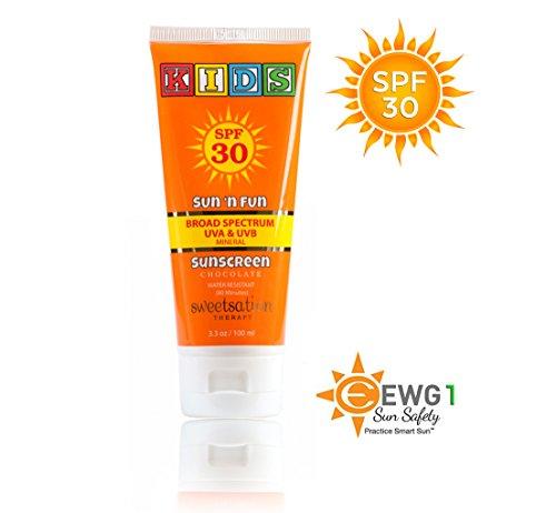 Best Sunscreen 2020.Best Sun N Fun Broad Spectrum Natural Mineral Sunscreen For