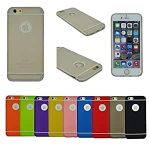 LCJ TPU+PC Two in One Combo Design Back Cover Case for iPhone 6 (Assorted Colors) , Purple