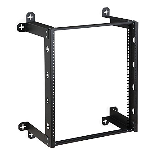 12u Fixed Wall (MyCableMart 12U Fixed V-Line Patch Panel Bracket Wall Type 12inches Deep)