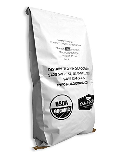 Royal Organic Red OA Quinoa (25 Lb bag) by OA QUINOA (Image #9)