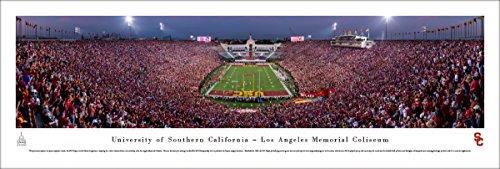 - USC Trojans Football - End Zone - Blakeway Panoramas Unframed Poster