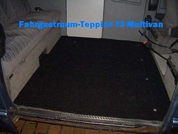 Dsx Gastraumteppich Fußmatte Teppich Hinten Für Vw Bus T3 Multivan Magnum Auto