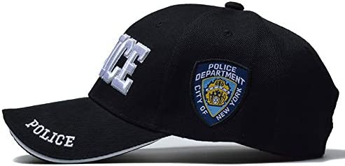 FBXYL Polic/ía Hombres Tactical Cap Swat Gorra De B/éisbol Hombres Gorras para Hombre Mujeres Snapback Army Cap Carta