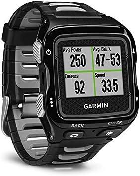 Garmin Forerunner 920XT Reloj multideportivo GPS con dinámicas de funcionamiento y funciones conectadas, color negro/gris (renovado)
