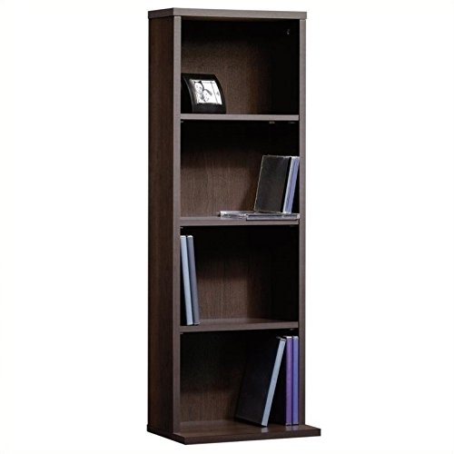 Sauder Beginnings Multimedia Storage Tower, Cinnamon Cherry...