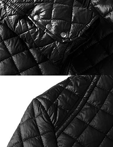 Checkered Blouson Sundayrose Femme Small Black xP0nf4qOn