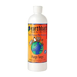 Earthbath All Natural Mango Tango Shampoo and Conditioner in One, 16-Ounce