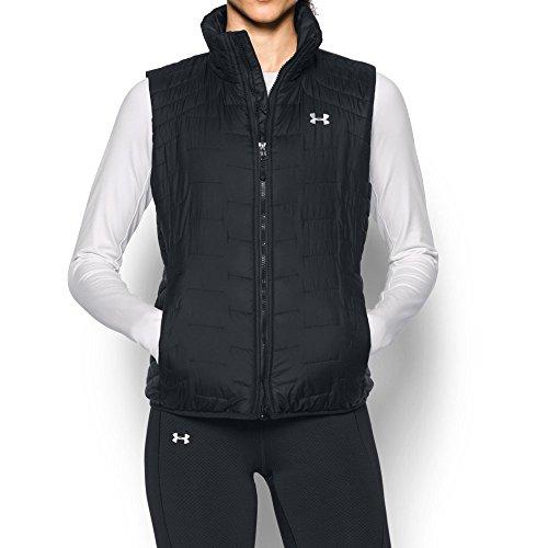 Under Armor Women's ColdGear Reactor Vest, Black/Black, Medium