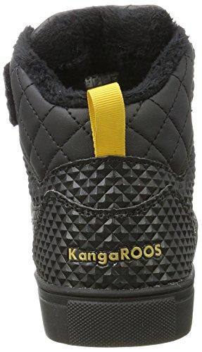 Prisma Ii Kangaroos jet Black Collo Donna A Alto Sneaker Nero q7xAHwv