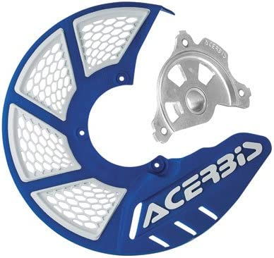 Acerbis X-Brake Vented Front Disc Cover with Mounting Kit Blue//White for Yamaha YZ250FX 2015-2018