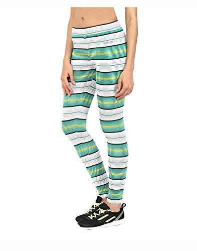Yepme - Leggings rayés Sabrina - vert et blanc
