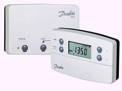 Danfoss – Danfoss – termostato programable Sans Fil tp7000-rf + récepteur RX1