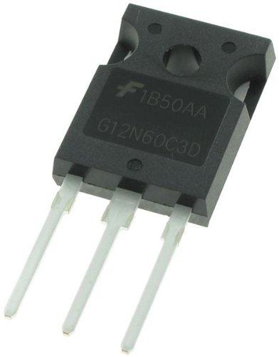 FAIRCHILD SEMICONDUCTOR HGTG12N60C3D SINGLE IGBT, 600V, 24A (50 pieces)
