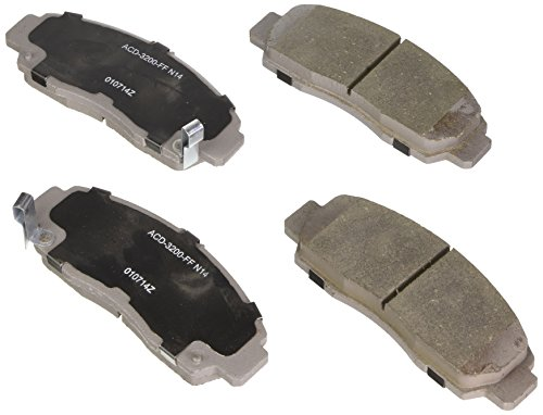 ACDelco 14D787CH Advantage Ceramic Front Disc Brake Pad Set