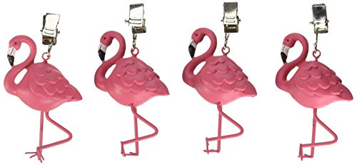 (Boston Warehouse Flamingo Tablecloth Weights (Set of 4),)