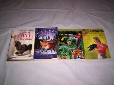 Jean Craighead George - (Set of 4) - Not a Boxed Set (Vulpes The Red Fox - One Day in the Tropical Rain Forest - The Cry of the Crow - There's an Owl in the Shower) (One Day Tropical Rain Forest compare prices)
