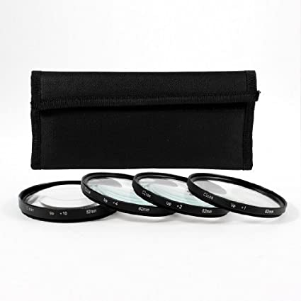Amazon.com: eDealMax 62mm Close up Kit de Lentes 1 2 4 10 ...