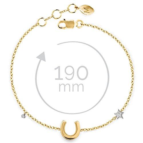 Missoma - Bracelet - Argent 925 - Diamant 0.002 carats - 20.0 cm - TR-G-B3-HS