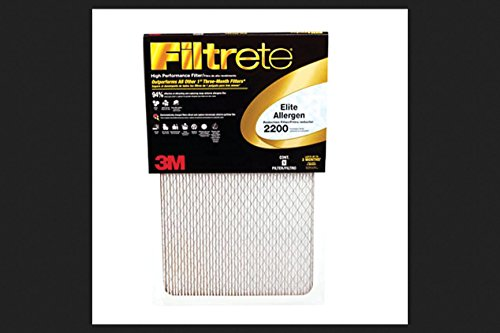 "3M EA01DC-6 16"" X 25"" X 1"" Filtrete® Elite Allergen Reduction Filter"