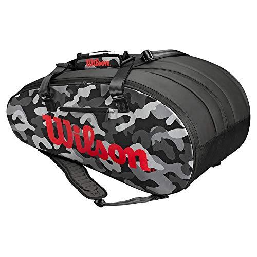 Wilson Super Tour 3 Compartment CAMO Tennis Bag