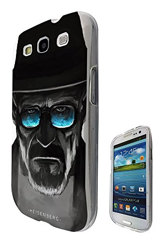 (c0376 - Cool Fun Trendy breaking bad cool sunglasses movie Design Samsung Galaxy S3 i9300 Fashion Trend CASE Gel Rubber Silicone All Edges Protection Case Cover)