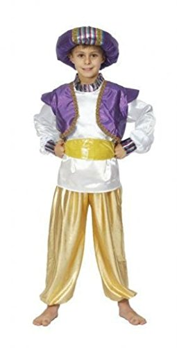 [Costume Boy: Aladdin - Large] (Aladdin Costume For Boy)
