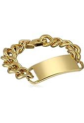 Cold Steel Stainless Steel Id Men's Bracelet