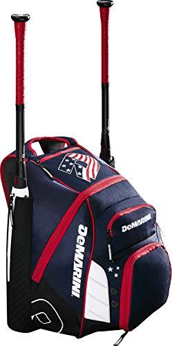 DeMarini Voodoo Rebirth Baseball Backpack - Equipment Gloves Bats Baseball Softball