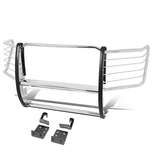 Stainless Steel Front Bumper Headlight/Grille Brush Guard for 11-16 Ford F250/F350/F450/F550 Super Duty