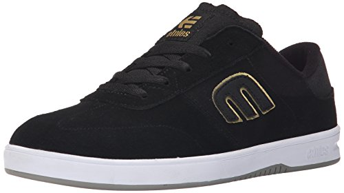 EtniesLo-cut - Zapatillas de Skateboard hombre Negro - Black (Black/Gold/Grey971)