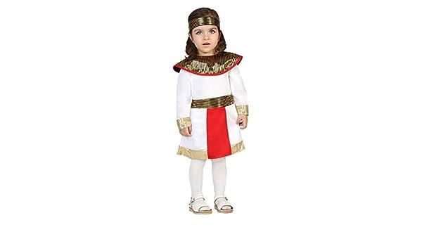 Atosa-24436 Disfraz Egipcia, Color Blanco, 12 a 24 Meses (24436 ...
