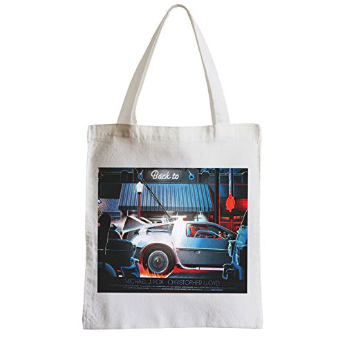 Fabulous Grand Sac Shopping Plage Etudiant DeLorean DMC-12 retour vers le futur