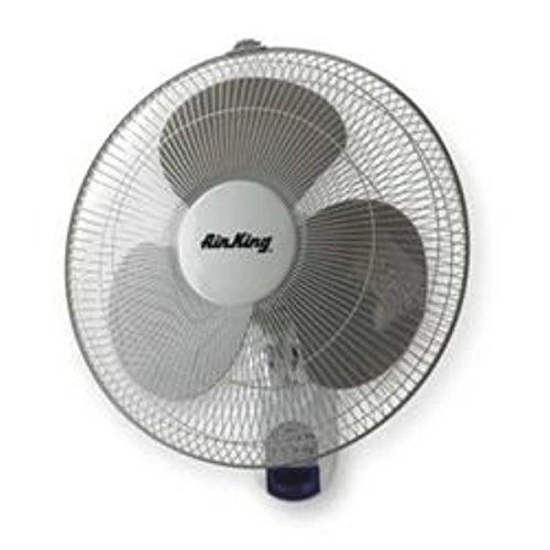 Air King 9046 Wall Mount Fan With Steel - King Air Mount Wall Grill