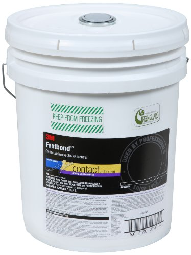 - 3M Fastbond Contact Adhesive 30NF Neutral, 5 gal Pail