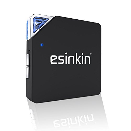 Bluetooth Receiver/Transmitter,Esinkin wireless 2-in-1 Audio Adapter for TV/Home Sound System